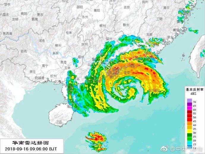 15级大台风登陆现场,东北人这辈子没见过的凶狠场景!
