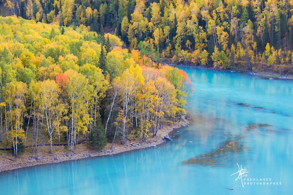 中国秋季旅行时刻表,美哭了全世界,错过再等一年。